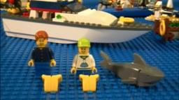 Lego 4642 Review Fishing Boat City Harbor