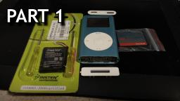 iPod CF Replacement Vlog, Part One