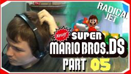 Sea. Beach. And HONEYHIVE TOWER !!!:Newer Super Mario Bros DS Lets Play (05)