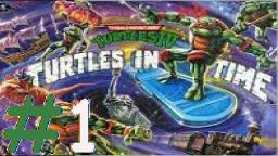 Let´s Play Together TMHT IV: Turtles in Time (Deutsch)  - Teil 1 Diebstahl der Freiheitsstatue!