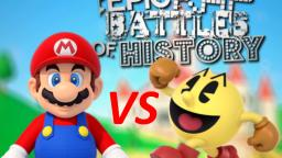 MARIO VS PACMAN! (EPIC RAP BATTLE!!!)