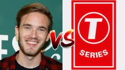 PewDiePie 🆚 T-Series (UPDATE)