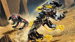 Classic LEGO Bionicle Review: Muaka and Kane-Ra