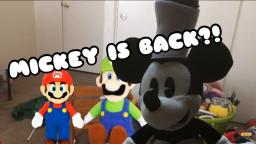 the mushroom galaxy - Mickey is back?!