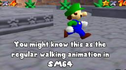 ~CyanMarioKing~ Tips For An Alternate Walking Animation In SM64
