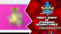 MY FIRST SHINY FROM DYANAMAX ADVENTURES | Pokemon Sword [Crown Tundra DLC]