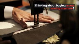 Deciding on the Great Sewing Machine Online
