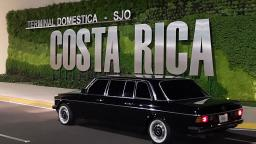 MERCEDES 300D LIMOUSINE FOR COSTA RICAS CALL CENTER GUESTS