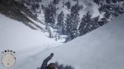 Sliding down a mountain
