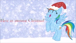 Jingle Bells but its sang by Rainbow Dash