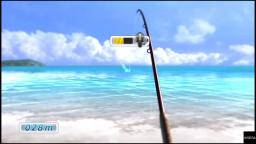 Yakuza 3 - Fishing - PS4 Gameplay