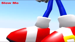 Sonic 3D Animation