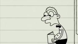 Greg Heffley, can you please come to the front of the room and do the problem?