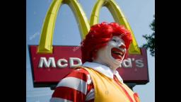 Ronald Mcdonald Prepares His Mcdonalds Convention Display