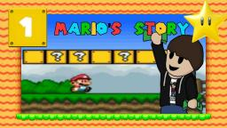 Lets Play Marios Story [SMW-Hack] Part 1 - Ein epischer Hack von PaperMario94