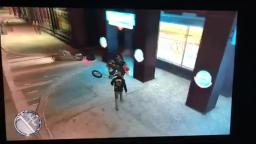GTA IV TLAD upside down biker