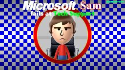 Microsoft Sam fails at Tech Support