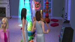 a party with my sims friends