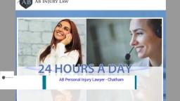 Personal Injury Lawyer Chatham - AB Personal Injury Lawyer (800) 394-3971