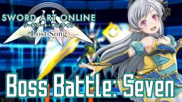 Sword Art Online Lost Song Music Extended - Boss Battle: Seven