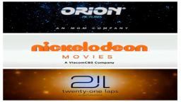 Dream Logos Combo: Orion Pictures (2018)/Nickelodeon Movies (2019)/21 Laps Entertainment (2015)