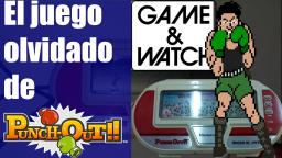 Un Juego Injustamente Olvidado: Punch-Out (Game & watch) - Aporte - Opinion