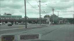 LIRR TRAIN ARRIVING AT THE HICKSVILLE TRAIN STATION VIDEO 2