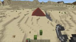 Blowing Up A Desert In Minecraft