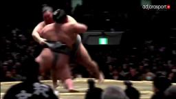 January Sumo Grand Tournament - Title deciding bout: Tokushoryu VS Takakeishou