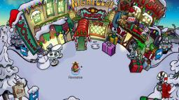 MERRY CHRISTMAS FROM CLUB PENGUIN!