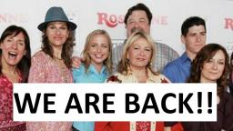 ROSEANNE Reboot Revival TV show - March 27, 2018