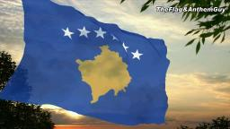 Flag and anthem of Kosovo