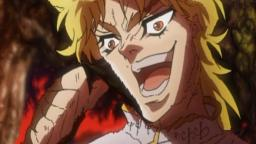 DIO BRANDO SAYS THE N WORD