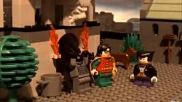 Lego Batman: Penguin stays at the batcave