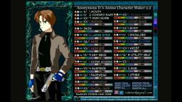 anime character maker 2 como hacer a dante y leon kennedy