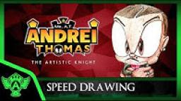 Speed Drawing: Myself Concept 1 | Mr. A.T. Andrei Thomas