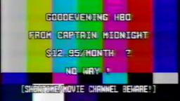 Captain Midnight, HBO, 1986