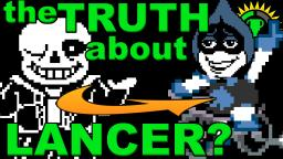 Game Theory: DELTARUNE - Lancers Secret Identity!
