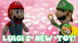 Crazy Mario Bros - Luigis New Toy!