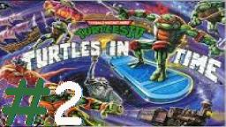Let´s Play Together TMHT IV: Turtles in Time (Deutsch)  - Teil 2 Turtles auf großer Zeitreise!