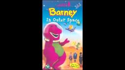 BARNEY OUTER SPACE ADVENTURE FUN FOR ALL AGES