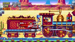 Sonic Mania Playthrough Part 14: Mirage Saloon Zone (Act 1)