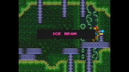SUPER METROID ICE METAL / ICE BEAM REQUIRED for replacing THE LOST SAVED FILE GOT FROZEN!