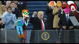 Drew Pickles Goes to the Presidential Inauguration of Donald Trump
