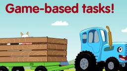 The Blue Tractor: Games for Kids