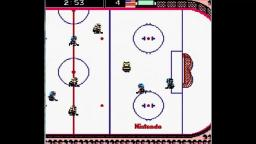 Ice Hockey - Game - NES Gameplay
