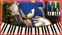 Luminous Forest (Mystic Jungle) - Sonic Forces【Synthesia】