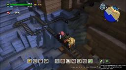 Dragon Quest Builders 2 - Track Around Island - PS4 Gameplay
