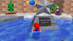 how to unlock luigi in super mario 64.