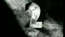 bbc2 black & white copper cutout ident